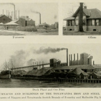 Tonawanda Iron and Steel, photos (Greater Buffalo & Niagara frontier, Buffalo Chamber of Commerce, 1914).jpg