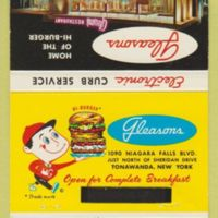 Gleasons Home of the Hi-Burger, matchbook (c1960).jpg