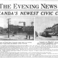 Tonawandas Newest Civic Center, photos and article (Ton News 1924).png