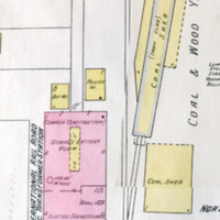 International Railroad Elec. transformer station, map detail (Sanborn Map Company, 1910, 1913).jpg