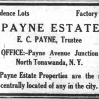 Payne Estate Properties, ad (Tonawanda News, 1924-10-14).jpg