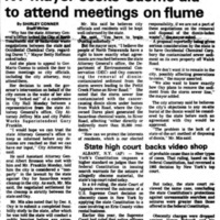 NT mayor seeks aid to attend meetings on flume, Durez, article (Ton News, 1986-10-28).jpg
