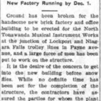 Ground Broken for New Plant, NTMIW, article (Tonawanda News, 1907-07-20).jpg