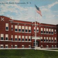 Colonel Payne School, North Tonawanda, NY c3, photo postcard.jpg