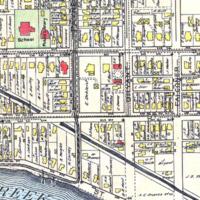 de Kleist residence on Payne Ave, map detail (1908).jpg