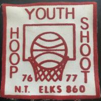 Youth Hoop Shoot, 76-77, NT Elks, patch (c.1977).jpg