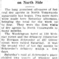 Dry offensive started here, Washington hotel and 237 Oliver targeted, article (Tonawanda News, 19256-09-13ish).jpg