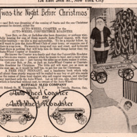 Buffalo Sled Co - Auto Wheel Coaster, Christmas ad.jpg