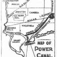 Map of Power Canal to Lockport, illustration (Tonawanda News, 1904-04-15).jpg