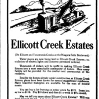 Ellicott Creek Estates, ad (Buffalo Courier, 1925-08-22).jpg
