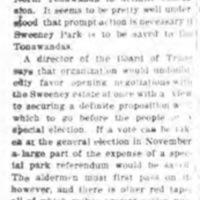 Sweeney Park Purchase, sketch of way forward, editorial (Tonawanda News, 1915-08-26).jpg