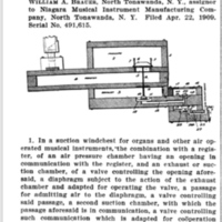 WIlliam Brauer, organ, patent (1909-04-22).jpg