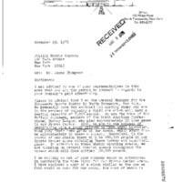 Willie Marshall asks Phillip Morris for clock, illustrated letterhead (1976-11-29 ).pdf