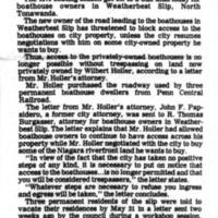 Slip roadblock threatened, article (Tonawanda News, 1978-05-23).jpg