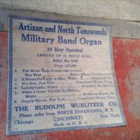 Artizan and NT Wurlitzer music roll (c1930).jpg