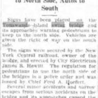 Place Signs on Island Bridge, article (Tonawanda News, 1926-04-14).jpg