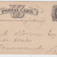 Postcard to Stocum Lumber dealer, front (1877-06-16).jpg