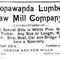 Tonawanda Lumber and Saw Mill, Gratwick Station, ad (Tonawanda News, 1893-09-29.jpg