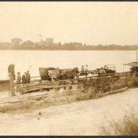 Whitehall Ferry from end of state road to Tonawanda, photo (c1925).jpg