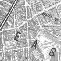 Limonaire Bros. area, Great College Street, St. Pancras Parish, map (1885).jpg