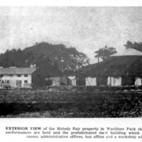 Melody Fair, building and tent, photo (Buffalo Courier-Express, 1956).jpg