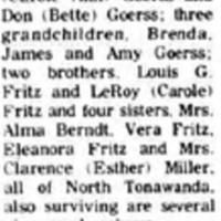 Leona W. Goerss, obituary (Tonawanda Evening News, 1981-12-17).jpg