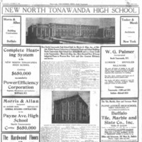 New High School, Morris and Allan profile, photo article (Tonawanda News, 1926-10-27).jpg