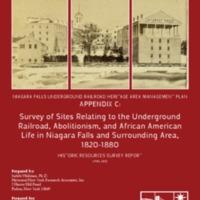 Survey of Sites Relating to the Underground Railroad in Niagara region, 1820-1880.pdf