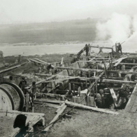 Wickwire Steel Plant construction (1907).jpg