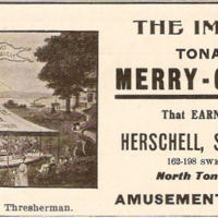 Herschell Spillman, The Improved Tonawanda Merry-Go-Round, ad (1903).jpg