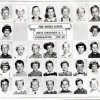 Pine Woods School Kindergarten, class photo - Miss Thelma Will (1959-60).jpg