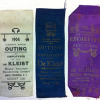de Kleist annual employee outing ribbons (1904-1906).jpg