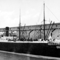 The Manitoba, a ship de Kleist boards to America (1892).jpg